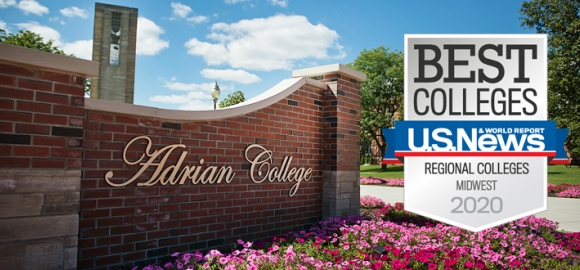 Adrian College in top rankings of U.S. News & World Report on America's Best Colleges