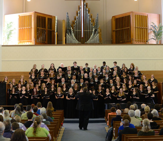 College Choir, 2013
