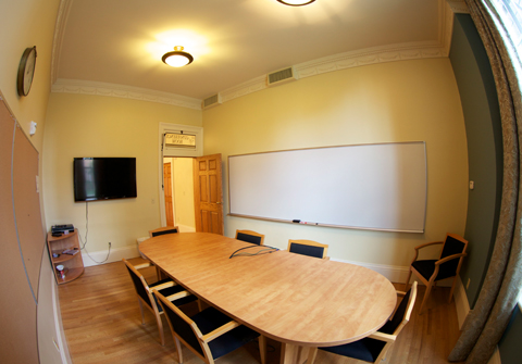 Classroom within Downs Hall