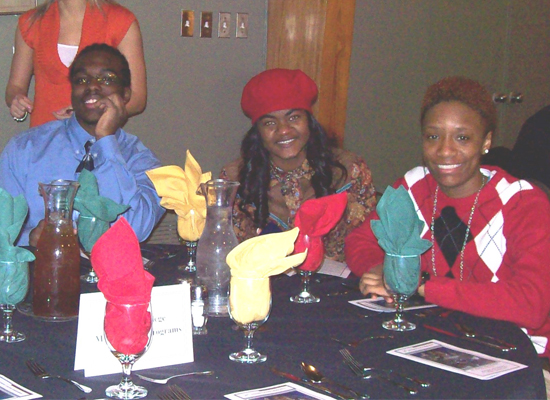Students at MLK Jr. Dinner (2013)
