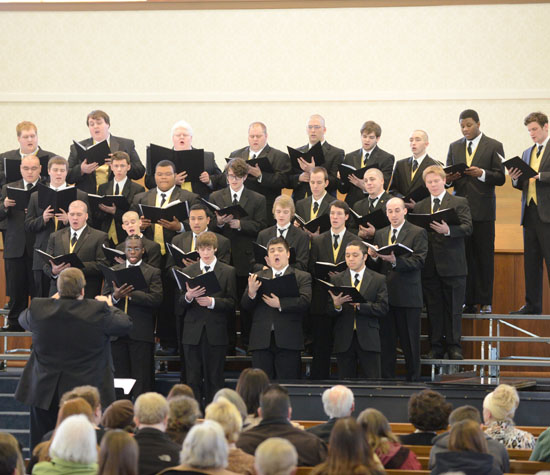 Men's Choir, 2013