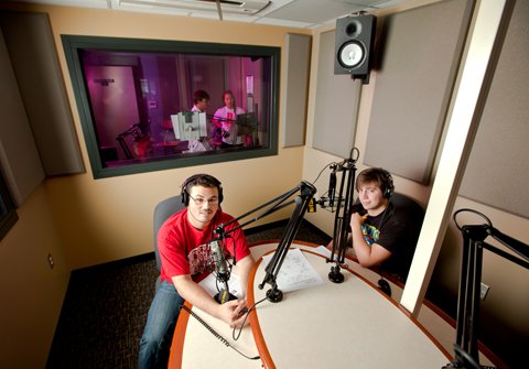 WVAC 107.9, located inside Rush Hall