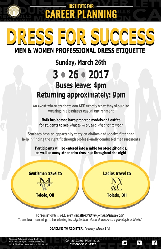 Dress for Success 2017